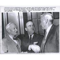 1961 Press Photo Danny Murtaugh - RRQ13953