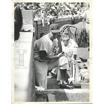 1963 Press Photo Cubs head coach Bob Kennedy - RRQ57525