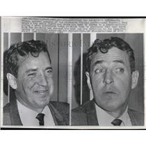 1965 Press Photo Jim Finks Minnesoate Vikings Smile Tie - RRQ09003