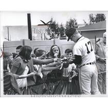 1966 Press Photo Denny McLain American Base Ball Player - RRQ33373