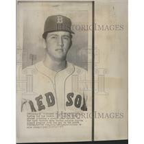 1967 Press Photo Billy Rohr Boston Red Sox Pitcher - RRQ55625