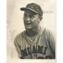 1967 Press Photo Miami Marlin Pitcher Bob Patrylo - RRQ73019