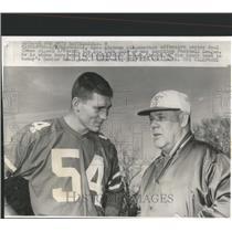 1968 Press Photo Alabama Paul Crane NY Jets America Football League America