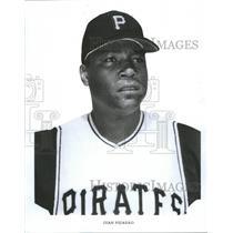 1968 Press Photo Pittsburgh Pirates Juan Pizarro - RRQ72871