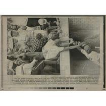1969 Press Photo Chicago Manager Leo Durocher - RRQ33881