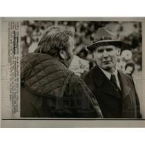 1970 Press Photo Coachs John Madden and Tom Landry - RRQ45367