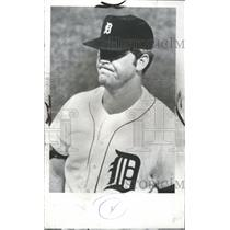 1970 Press Photo Detroit Tigers Player McLain Concerned - RRQ55781