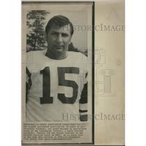 1970 Press Photo Babe Parilli New York Jets QB - RRQ62609