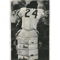 1970 Press Photo Elijah Pitts Chicago Bears - RRQ62847