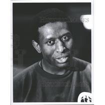 1971 Press Photo Pistons Practice Coach Earl Lloyd - RRQ11205