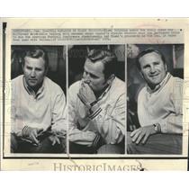 1971 Press Photo Don Shula Miami Dolphins Head Coach - RRQ16365