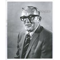 1971 Press Photo Sidney Gerald Abel Hockey Player Coach - RRQ40269