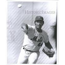 1971 Press Photo James Blair Bibby American Baseball Louis Texas Ranger