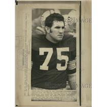 1972 Press Photo FORREST GREGG FOOTBALL DALLAS COWBOYS - RRQ62599