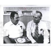 1972 Press Photo John Sandusky Baltimore Colts coach - RRQ65921