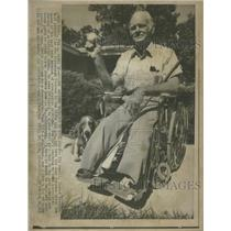 1973 Press Photo Rip Sewell - RRQ12025