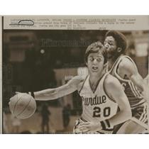 1973 Press Photo Purdue Bruce Parkinson Doug Young - RRQ12975