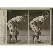 1973 Press Photo Lawrence Robert Bowa Chicago Cubs - RRQ14559
