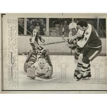 1973 Press Photo Denis Charlles Potvin New York Four - RRQ15295