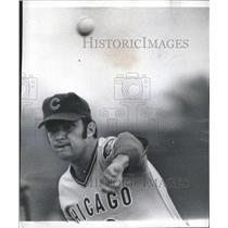 1973 Press Photo Pitcher Dar MccGinn Arm Cubs Scoottsd - RRQ34141