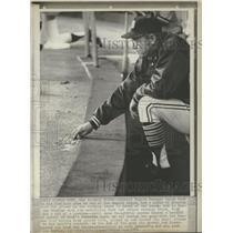 1974 Press Photo Detroit Tigers Manager Ralph Houk - RRQ37423