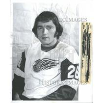 1974 Press Photo Donny Grant Detroit Red Wings Hockey - RRQ40275
