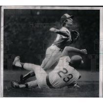 1974 Press Photo Craig Robinson Chicago Cubs - RRQ44781