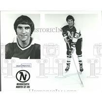 1975 Press Photo Dean Prentice Minnesota North Stars - RRQ64799