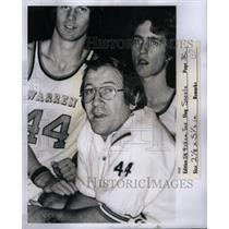 1976 Press Photo George Steel Coach Warren High School - RRQ42149