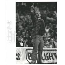 1984 Press Photo Don Nelson Head Coach Milwaukee Bucks - RRQ57307