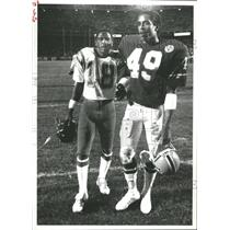 1984 Press Photo Charlie Joiner Kansas City Chiefs - RRQ62531