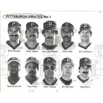 1986 Press Photo Pittsburgh Pirates - RRQ41071