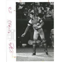 1986 Press Photo White Sox's catcher Joel Skinner - RRQ71315