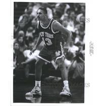 1990 Press Photo Mark Jackson American basketball playe - RRQ67589