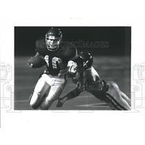 1992 Press Photo Newport High Quarterback Tom Wagner - RRQ66637