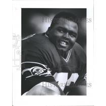 1993 Press Photo Seahawk Tackle Ray Roberts - RRQ67673