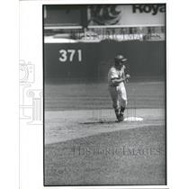 Press Photo Bud Harrelson Running Bases New York Mets - RRQ11155