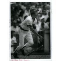 Press Photo Marc Grace of Cubs home run hit. - RRQ42687