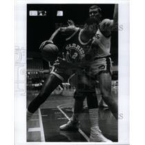 Press Photo Joe Barry Carroll Center Golden State - RRQ43503