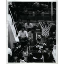 Press Photo Joe Barry Carroll Houston Rockets Basketball Player - RRQ43509