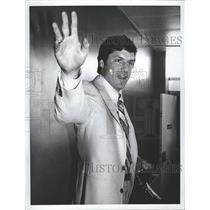 Press Photo George Thomas Tom Seaver New York Mets win - RRQ54573