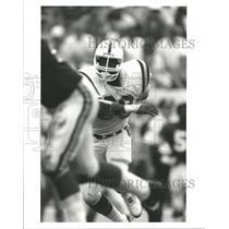 Press Photo Johnie Earl Cooks Baltimore Colts American - RRQ55097