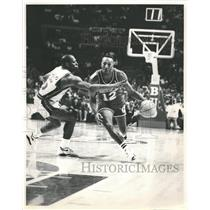 Press Photo Derek Harper Dallas Mavericks - RRQ61917