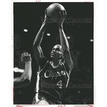 Press Photo Ron Harper Los Angeles Clippers - RRQ61937