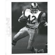 Press Photo Greg Bell Los Angeles Rams Football Player - RRQ62009