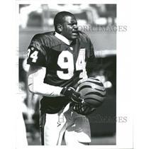 Press Photo Alfred Williams Cincinnati Bengals Football - RRQ62571