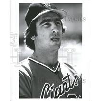 Press Photo Jack Clark San Francisco Giants Baseball - RRQ62683