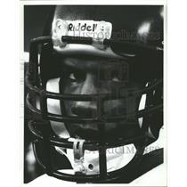 Press Photo Minnesota Vikings Browne Face Closeup - RRQ64181
