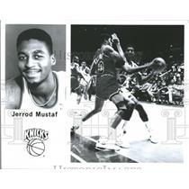 Jerrod Mustaf New York Knicks Basketball Player - RRQ64621