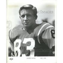 Press Photo George Sauer New York Jets Baltimore Colts - RRQ11087
